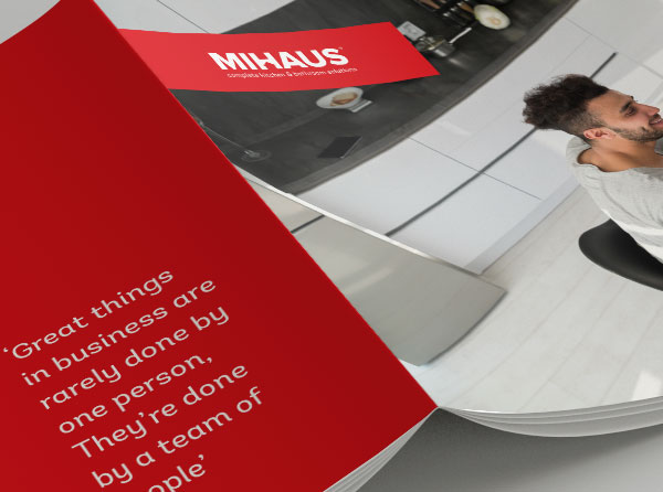 Mihaus Brochure Design