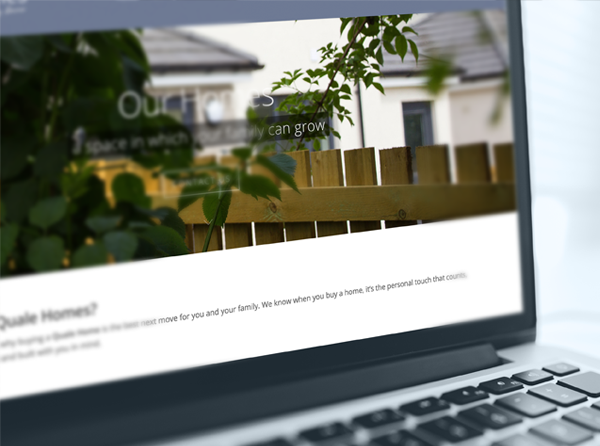 Quale Homes, Website Design and Development