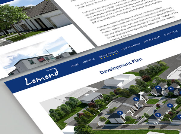 Lomond Group Website Design & Build