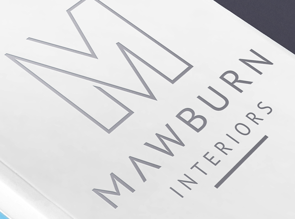 Mawburn Interiors – Logo & Stationery Design